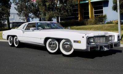 Ms. Rubio's white Cadillac