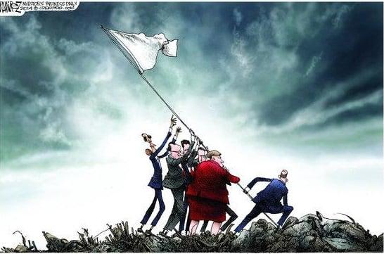 Iran-White-Flag
