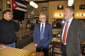 Fidelito and the Canadian Ambassador in Kazakhstan
