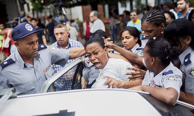 repression cuba ladies in white damas de blanco