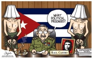 Raul Castro's cynical answer when questioned ...