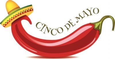 Cinco De Mayo jalapeno background.