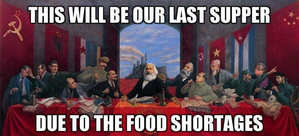 socialism last supper internet meme of the day the 'last supper' for the apostles of
