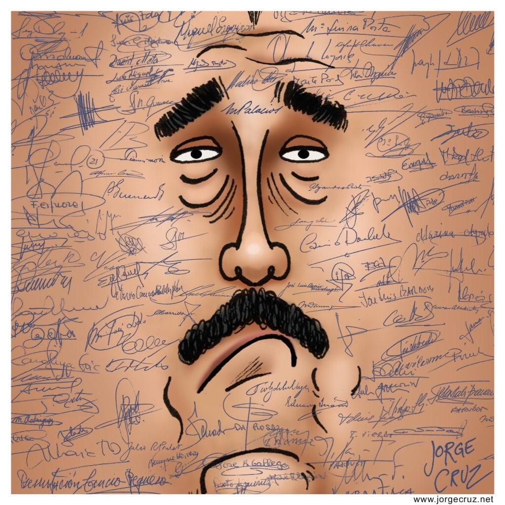 signatures venezuela maduro jorgecruz