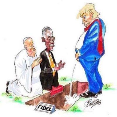 pope-obama-trump-on-fidel