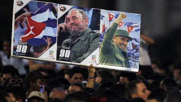 One of the events in Havana in the 9-day mourning period for Fidel Castro