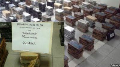 Cocaine shipment on Cuban ship camouflaged among tanks of molasses