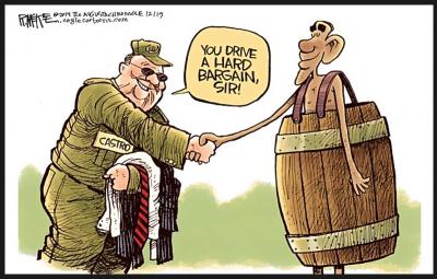 mckee cuba obama you drive a hard bargain