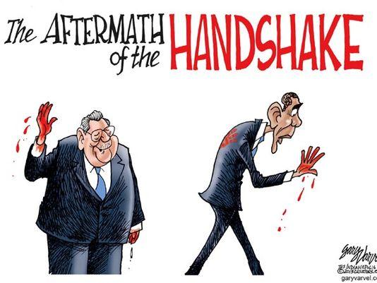 obama handshake raul castro
