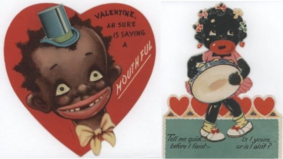 Unbelievably Racist Vintage Valentine's Day Cards (4)