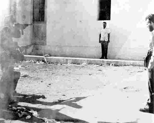 az Castro Execution in La Cabaña (photo taken from The Nuevo Herald)