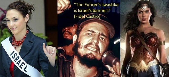 Image result for gal gadot fidel castro