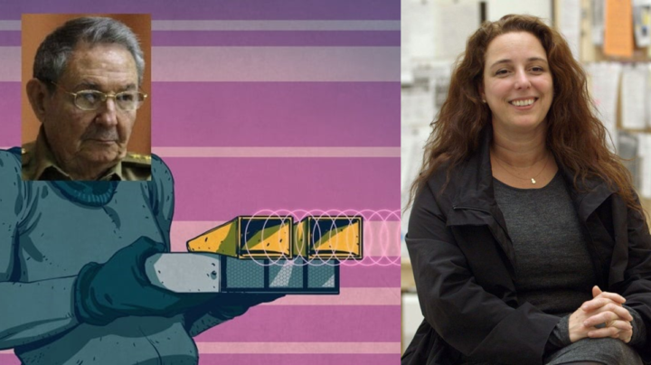 Cuban dissident Tania Bruguera reports strange electronic sound penetrating her home, causing headaches